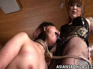 rough asian lesbian mistress